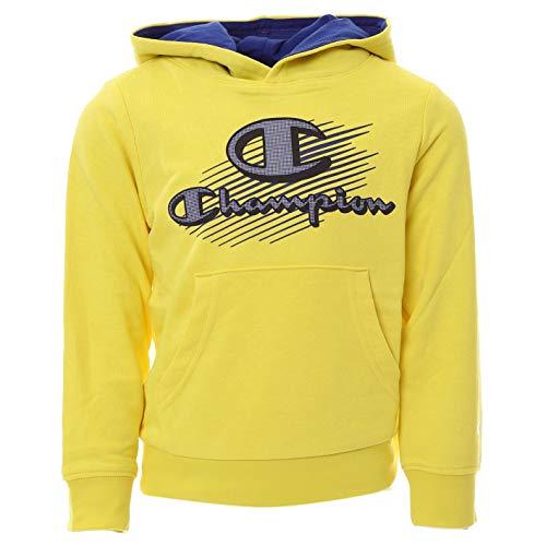 Champion Jungen Seasonal Graphic Shop Comics Hooded Sweatshirt Kapuzenpulli, Yellow, 9-10 Years