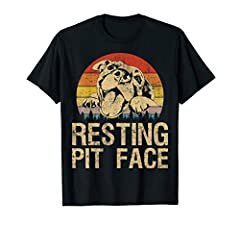 This Pitbull Resting Pit Face Tee is Perfect gift for men women who is pitbull mom dad, great gift ideal for a pit pull Lovers, Funny Cute Pitbull, Resting Pit Face Vintage Pitbull Lovers design, Funny Dog Pitbull Resting Pit Face design For Men Wome...