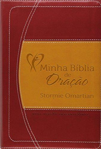Minha Bíblia de Oração NVI. Vinho/Laranja