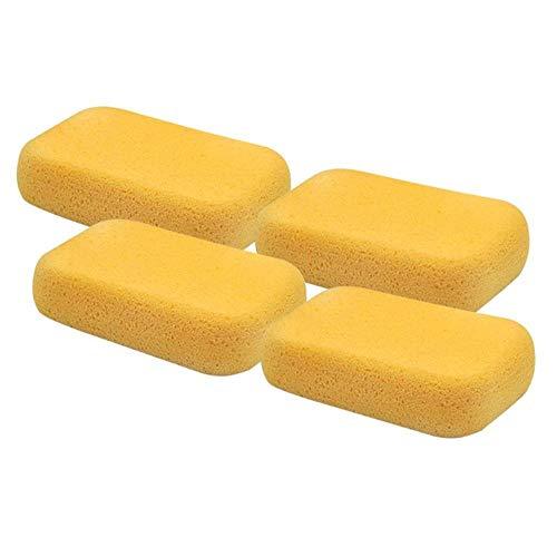 LLine 4Pcs Car Wash Sponzen Edge Polishing Porous Sponzen Voor het wassen van auto's Voertuig Huishoudelijke schoonmaakspons