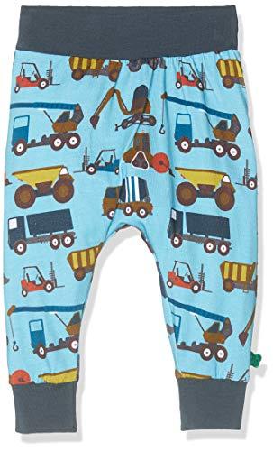 Fred'S World By Green Cotton Crane Pants Pantalon, Bleu (Water Blue 015441501), 95 (Taille Fabricant: 80) Bébé garçon