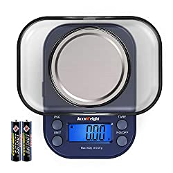 Image of AccuWeight 255 Mini Digital...: Bestviewsreviews