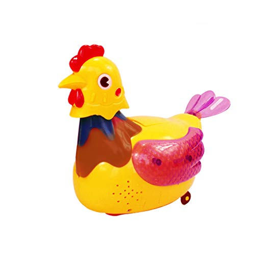 Electric Lighting Henne Funny Chicken eileggend Toys Early Education speelgoed cadeau Child Anti-stress-gadget leuk spel
