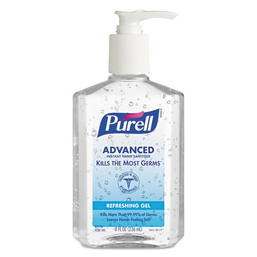 Purell Pump Bottle Hand Sanitizer 8 oz. Bottle