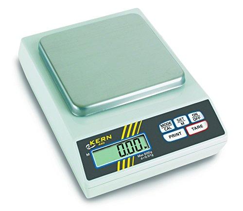 Kern & Sohn wlpa1000 440 serie precisieweegschaal, 130 mm x 130 mm platform, 165 mm lengte x 230 mm breedte x 80 mm hoogte, 1000 g bereik weegschaal, 0,1 g