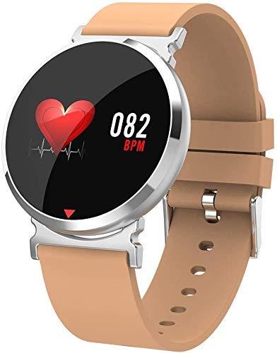 JIAJBG Fitness Tracker Actividad Seguimiento de la Pulsera Inteligente Bluetooth para Hombres, Pedómetro Tasa de Corazón Detección de la Presión Arterial, Calorie Photo Sport Fitnes
