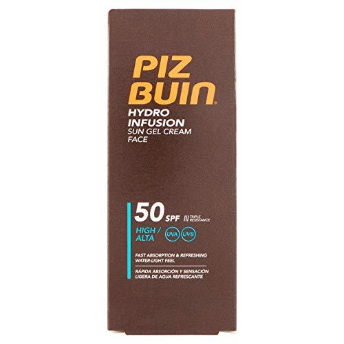 Piz Buin Gesichts-Sonnencreme, 1er Pack(1 x 50 milliliters)