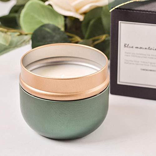 TAYIBO Bougies Coffret Cadeau,Bougie parfumée, soja sans fumée, Sommeil apaisant et désodorisation-Sage_and_Sea_Salt