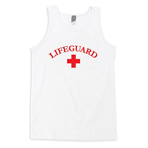 Best Buy! VLX Lifeguard Tank Tee - LifeguardLogo,White,XXL