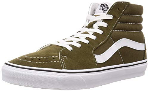 Vans SK8-HI Sneakers Uomini Oliva - 39 - Sneakers Alte