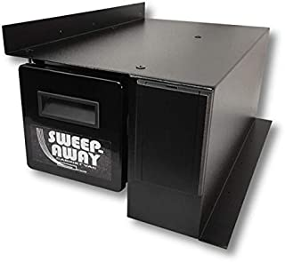 Sweep-Away Cabinet Vacuum, Left Side Mount, White Inlet Faceplate