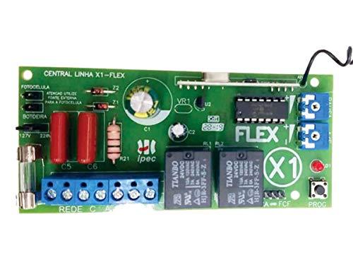 Placa Central Comando Básica Universal Marcas X1 Flex Motor Portão