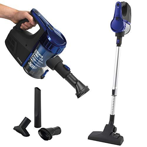 Beldray® BEL0737 Akku-Staubsauger Quick Vac Lite, ergonomisch Design, 600 ml Staubbehälter, 22.2 V, bis zu 45-Minuten-Betrieb, Blau