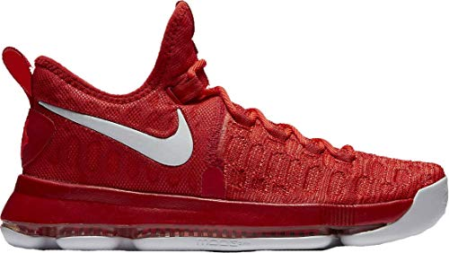 Nike Zoom KD 9 Mens Basketball Shoes (11, University Red/White)