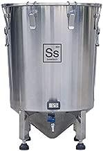 Ss Brewtech Home Brewing Brew Bucket Fermenter; Stainless Steel (14 Gallon)