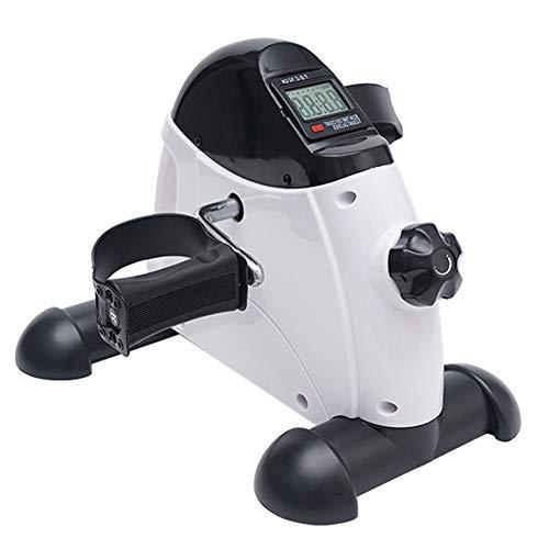 OUYA Mini Stepper Portátil para Ejercicios, Hogar Y Oficina Pedal Multifuncional De Bicicleta para Entrenamiento De Piernas Y Brazos