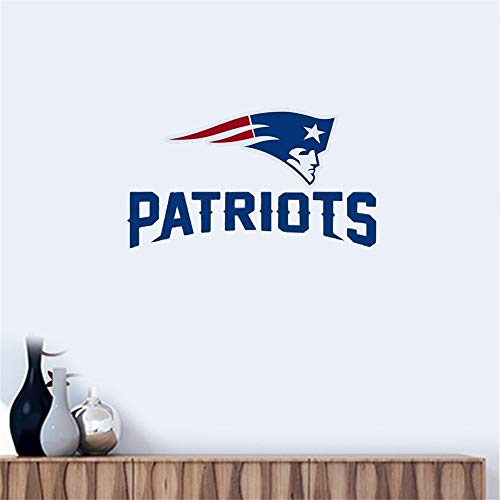 Wandtattoo New England Patriots # 1'1 Team Logo Vinyl Aufkleber Autofenster Wand
