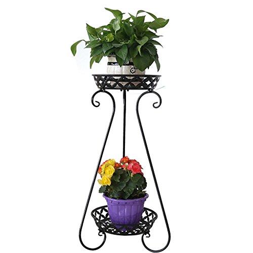 YUAN Arqué Fleur Racks Flooraway Fer Art Multicouche Salon Balcon D'intérieur Et D'extérieur Vert Plant Fleur Stand