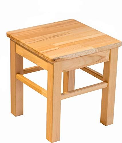 Möbeldesign Team 2000 GmbH Kinderhocker Hocker kernbuche massiv Holz geölt Sitzhocker