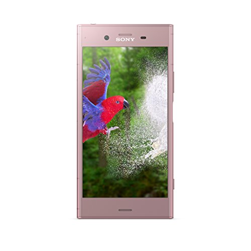 Sony Xperia XZ1 5.2 Inch HD Screen, Android 8.0 Oreo, UK SIM-Free Smartphone with 4Gb RAM and 32 GB Storage (Single SIM) - Twilight Pink