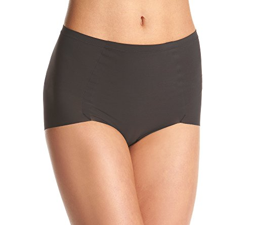 Maidenform Damen Panties Sleek Smoothers, 2 Pack Briefs, Schwarz (Black Wwy), 38