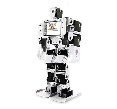 sb components PiMecha - 17 DoF Humanoid Robot for Raspberry Pi (with LCD & Camera)