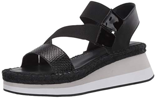Donald J Pliner Women's Wedge Sandal, Black, 10
