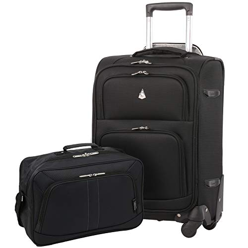 Large Capacity Maximum Allowance Airline Approved Luggage Carry On Travel Suitcase Spinner Rolling Cabin Wheeled Bag Set
