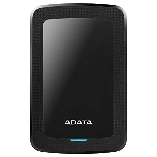 ADATA HV300 - 2 TB, externe Festplatte mit USB 3.2 Gen.1, schwarz, HDD Ext HV300 2TB
