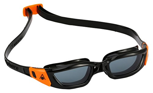 Aqua Sphere Kinder Kameleon Schwimmbrille, Tinted Lens/Black/Orange