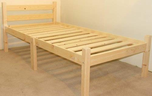 Strictly Beds and Bunks - Pine Bed Frame, 2ft 6 Single