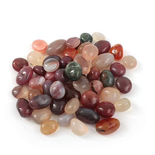 Pierre brillante en cristal de pierres coupées pour guérison Reiki - Pour aquarium - Pour décoration de jardin - Pour décoration de maison ou de jardin - 15 à 20 mm