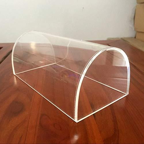 dhl Transparente Arco Soporte de exhibición de acrílico Transparente de Juguete Juego de Guardapolvos Almacenamiento Accesorios