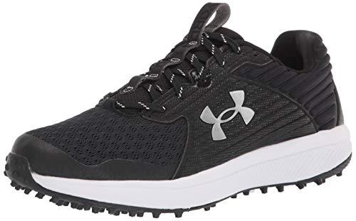 Under Armour mens Yard Turf Wide Baseball Shoe, Black (001 Black, 9.5 Wide US