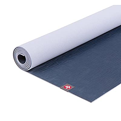 Manduka 131023030 eKO Lite Yoga and Pilates Mat, Midnight, 4mm, 68""
