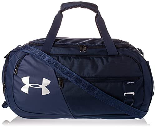 Under Armour Undeniable Duffle 4.0 bolsa de deportes, bolsa de entrenamiento unisex, Azul (Academy/Academy/Silver (408)), L