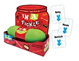 Gamewright – in A Pickle Deluxe, The Hilarious Party Card Game Amped UP and Portable in an Outrageous Plastic Pickle, Kids and Adults, Family Party Game