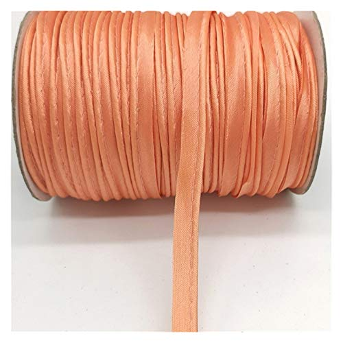 HLWJ 5 Yards Edge Sewing Ribbon Cord Rope for Sheets Sofa Curtains Hats Clothes Various Fabric Sewing DIY (Color : Pastel Pink)