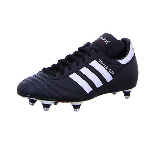 adidas Originals Unisex World Cup Fußballschuhe, Schwarz (Black/Running White Ftw), 48 2/3 EU