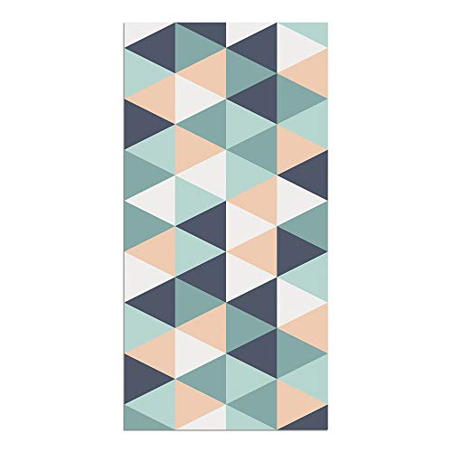 Alfombra Vinílica, Geométrico, 80 x 40 x 0.2 cm, Multicolor, ALV-046
