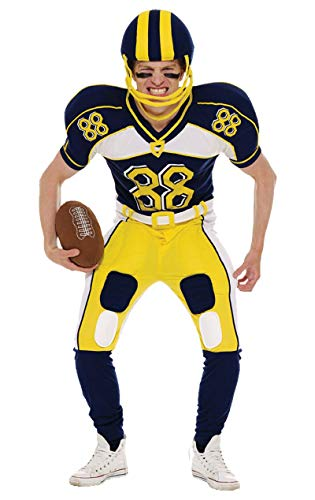 ORION COSTUMES Herren American Football Spieler Uniform Maskenkostüm