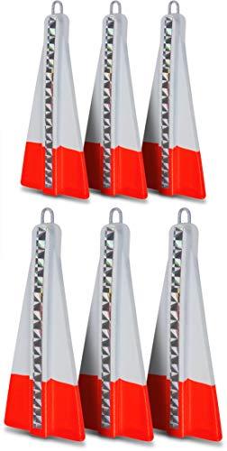 Storfisk fishing & more Heringsgewichte mit Öse für Heringspaternoster als 6er Set, Gewichte:40-50 g