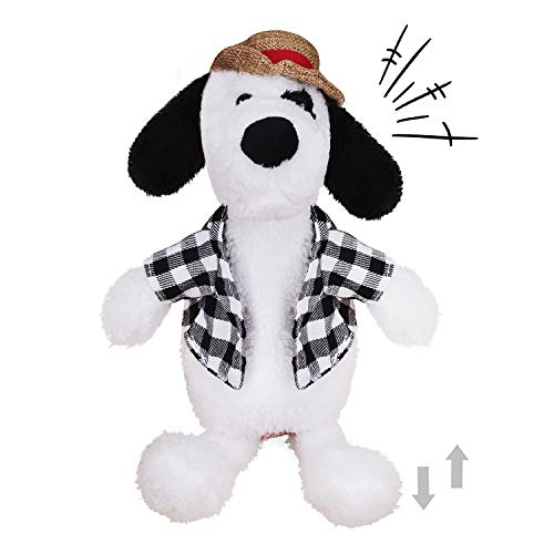 Divertido peluche que habla de juguetes para perros de peluche, juguete interactivo de perro eléctrico muñecas cantar y caminar de juguetes regalo de cumpleaños para los niños