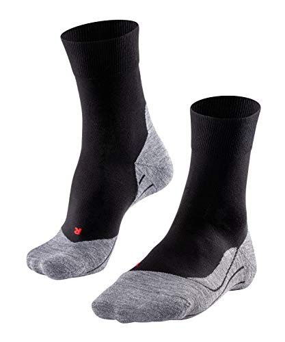 FALKE Herren Laufsocken RU4 M SO, 1er Pack, Schwarz (Black-Mix 3010), 42-43