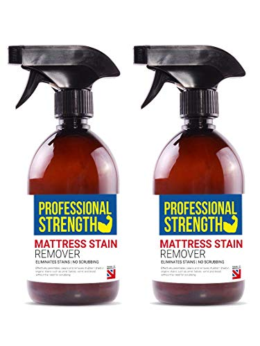 Professional Strength Mattress Stain Remover, Pack of 2