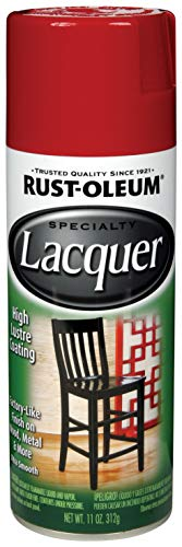 Rust-Oleum 243826 Lacquer Spray, 11-Ounce, Chinese Red