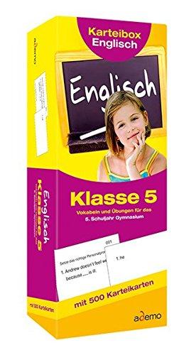 Karteibox Englisch, Klasse 5: Vokabeln und Übungen für das 5. Schuljahr Gymnasium