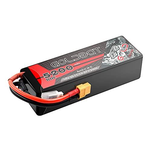 GOLDBAT Lipo Batterie 3S 5200mAh 80C...