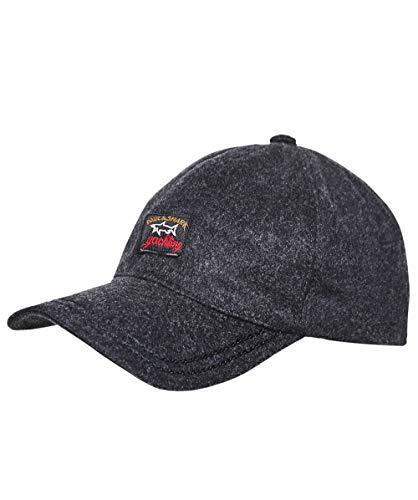 Paul and Shark Men's Wool Baseball Cap Gray XL
