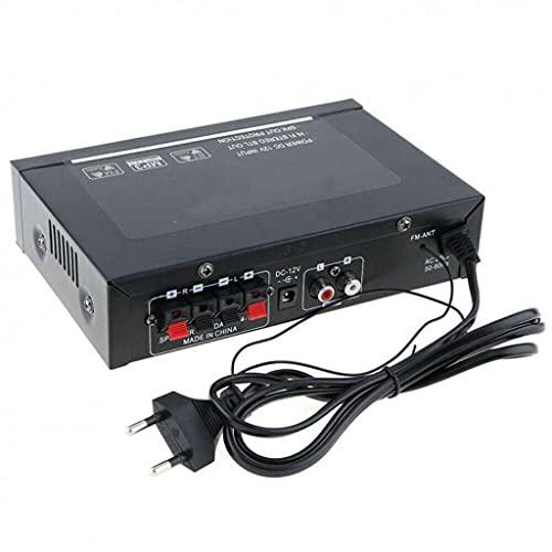 NIZYH Amplificador de Audio 800w G30 Amplificador Digital Home Power Bluetooth HiFi Estéreo Subwoofer Reproductor de música con Control Remoto